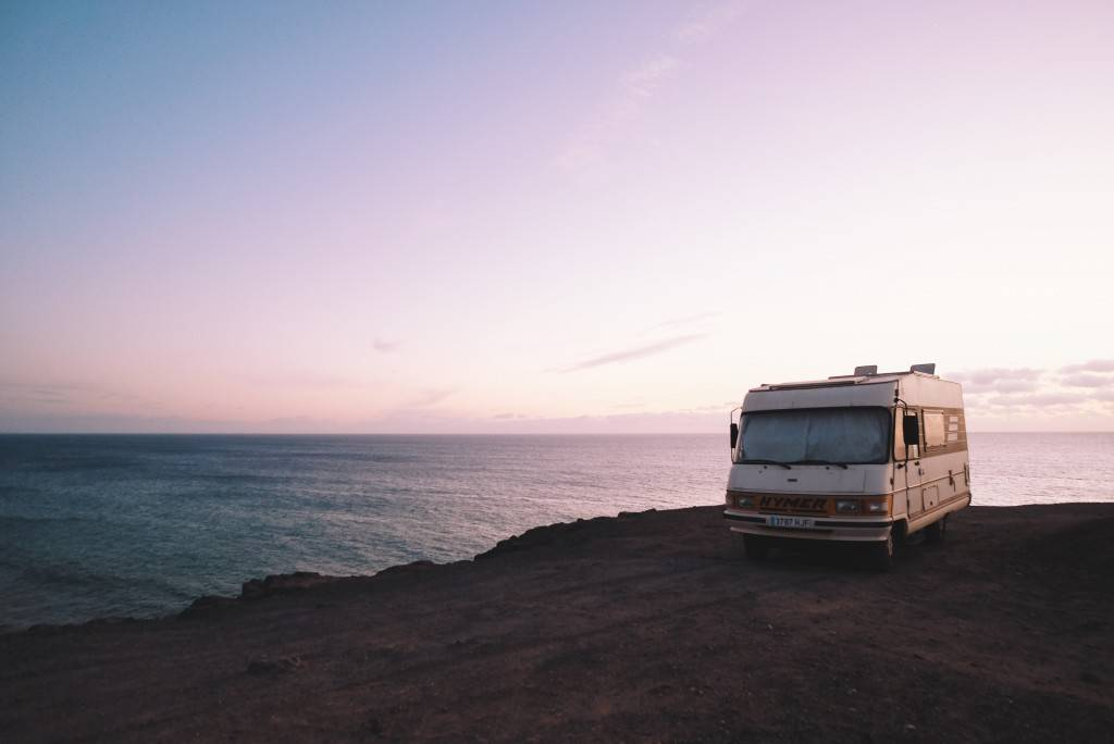 buying an rv to live in