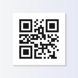 QR Code Tag Illustration