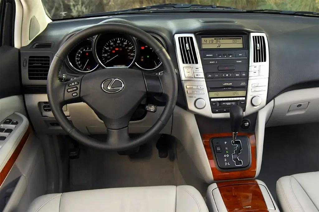 2007 Lexus Rx400h Manual
