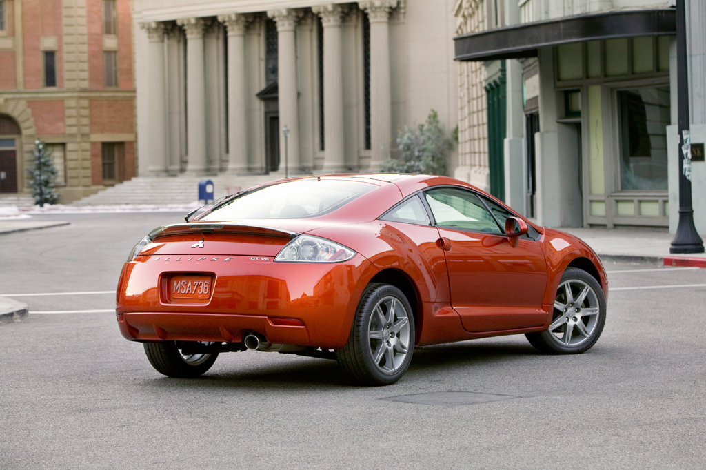 Following Schematic Shows The 2006 Mitsubishi Eclipse Front Drive