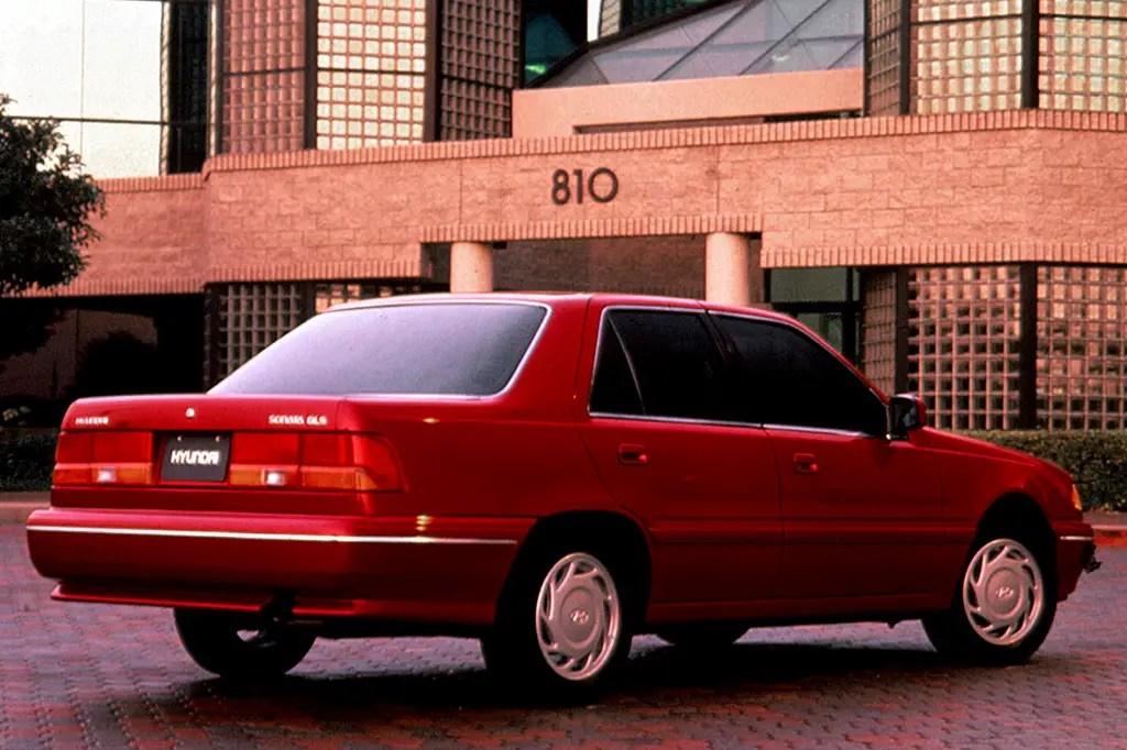 1990 94 Hyundai Sonata Consumer Guide Auto