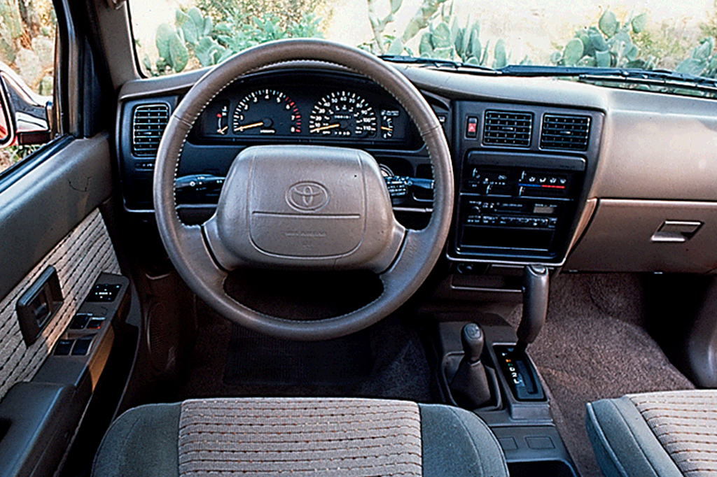 It has been the best selling car in japan all but two years since 1969. 1995-04 Toyota Tacoma | Consumer Guide Auto