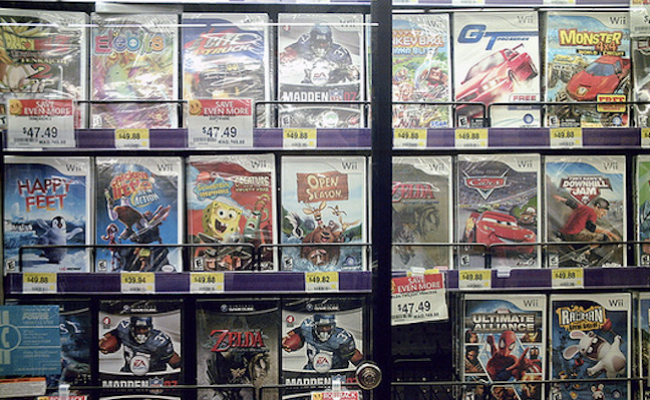 Walmart Officially Begins Reselling All Those Video Games