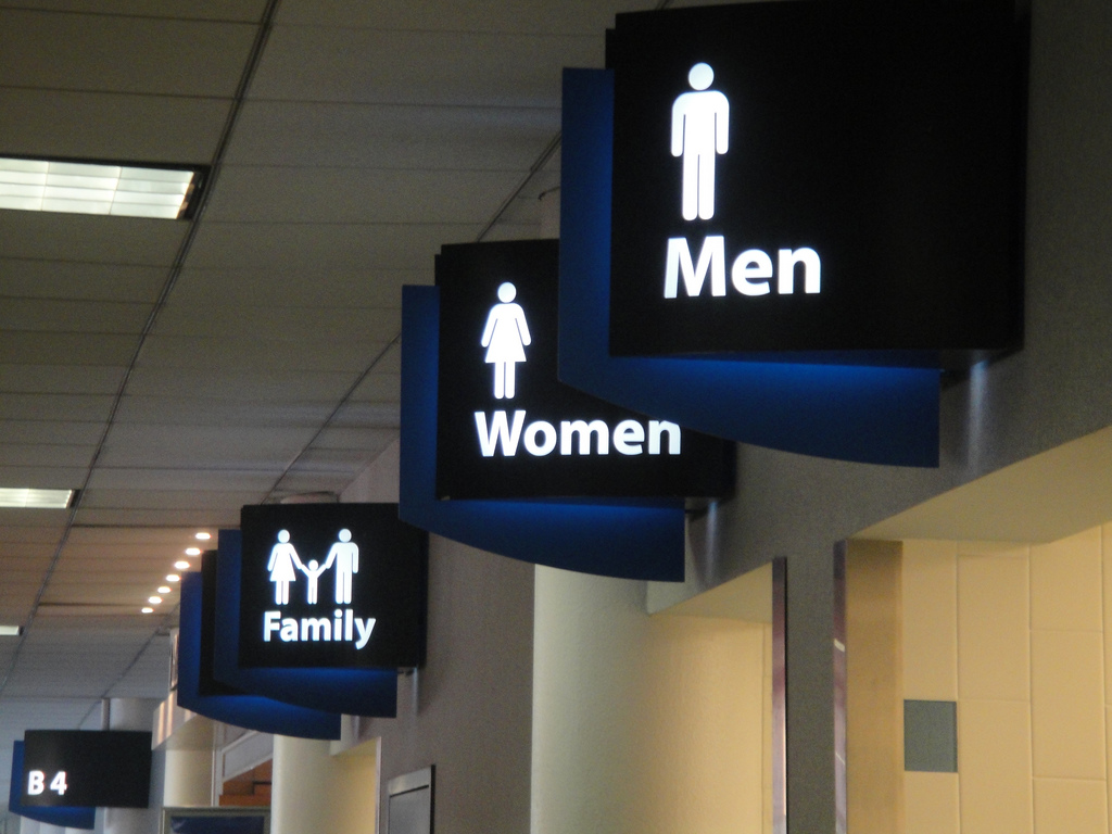 Naked Man Falls Through Airport Bathrooms Ceiling