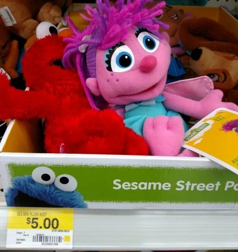 Walmart Sesame Street Plush Pals Only 300