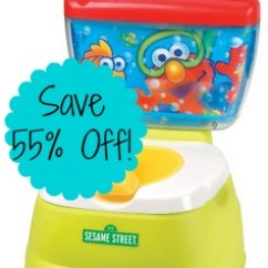 Sesame Street Elmo Adventure Potty Chair Fishing Bed Argos Highly-rated Only $17.77 (reg $39.99)!- Consumerqueen ...