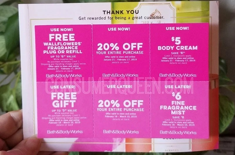 Store Works Coupons 2014 And Bath Body Feb