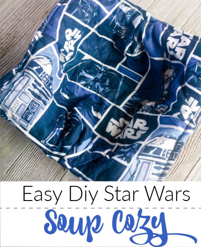 diy star wars bowl cozy for microwave