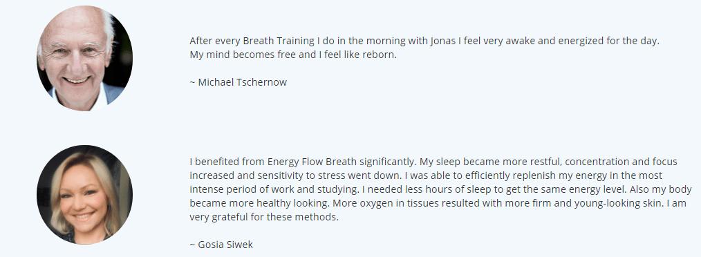 Energy Flow Breath Masterclass online course