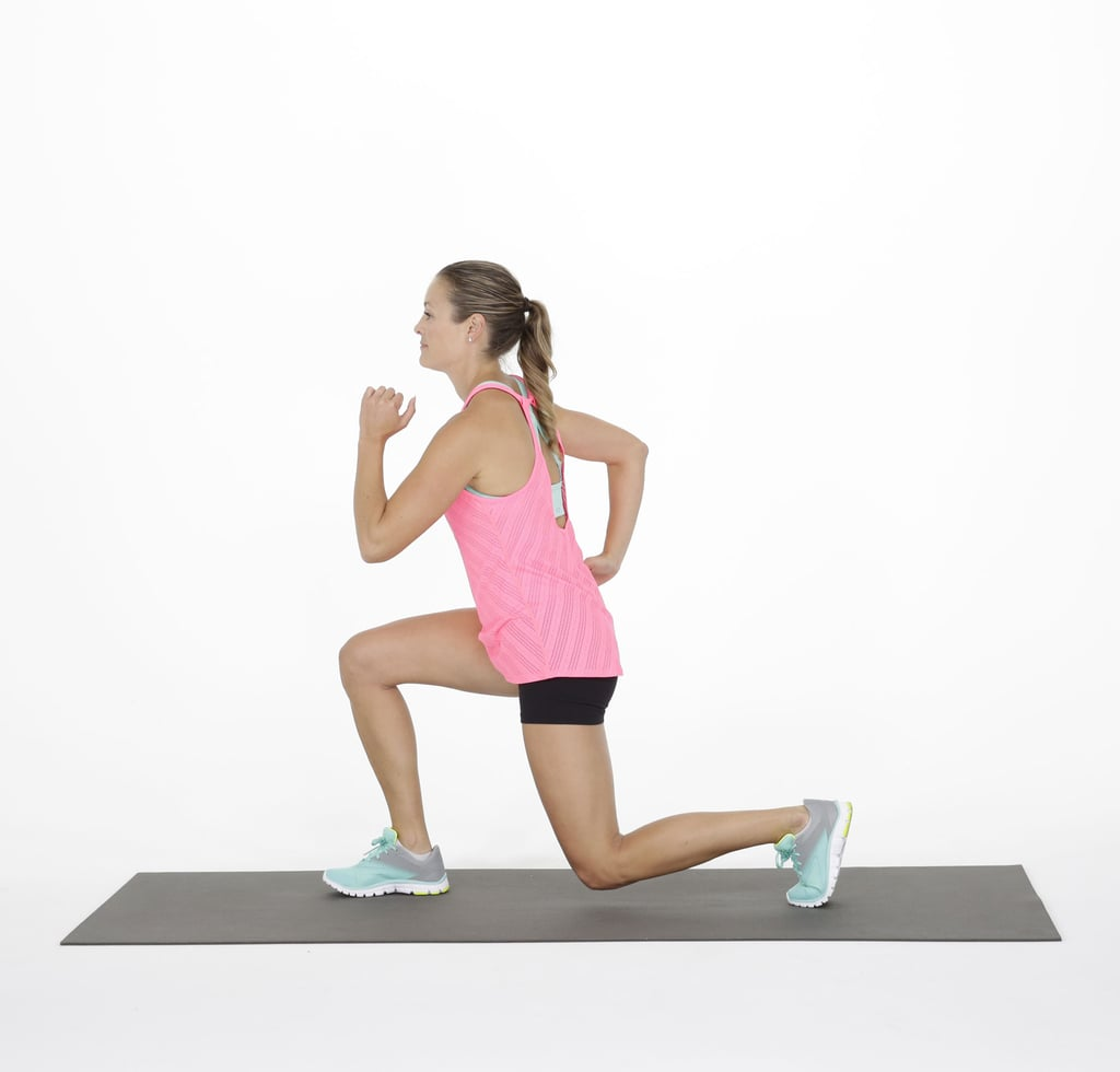 Forward alternating lunge