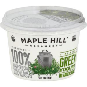 Maple Hill Creamery Organic Plain Whole Milk Yogurt