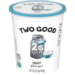 Two Good Plain Greek Yogurt
