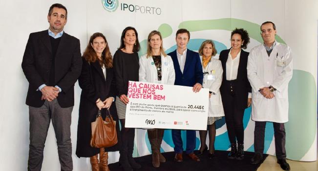 MO angaria mais de 20 mil euros a favor do IPO