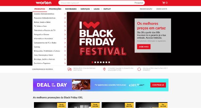 Worten é a marca mais associada à Black Friday