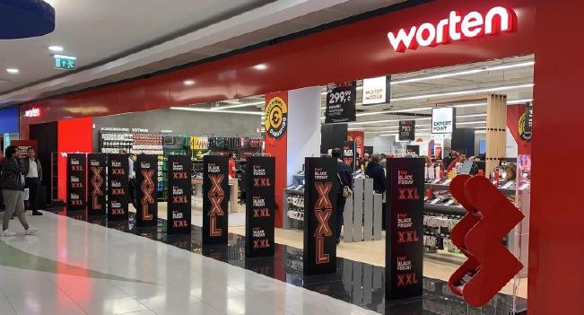 Worten abre loja no Palácio do Gelo Shopping