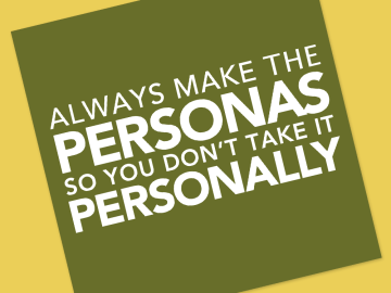 we ensure you that making Personas is the right way before starting any UX researches