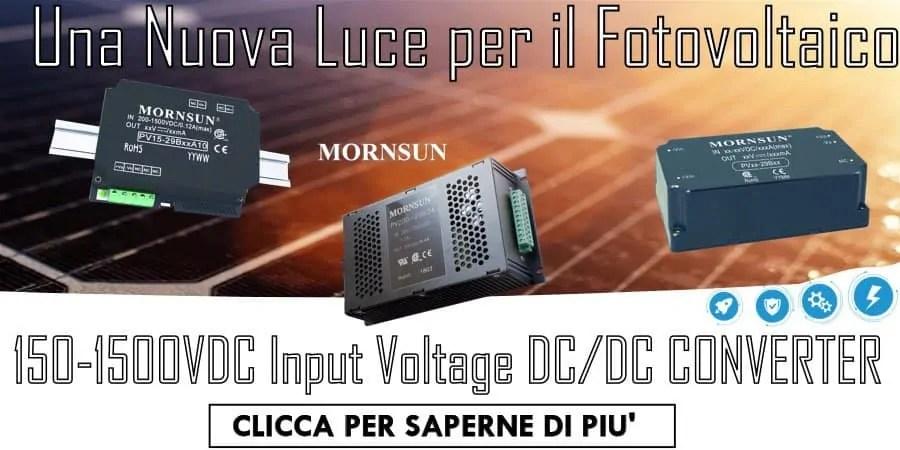 Soluzioni Power Supply MORNSUN per il PV