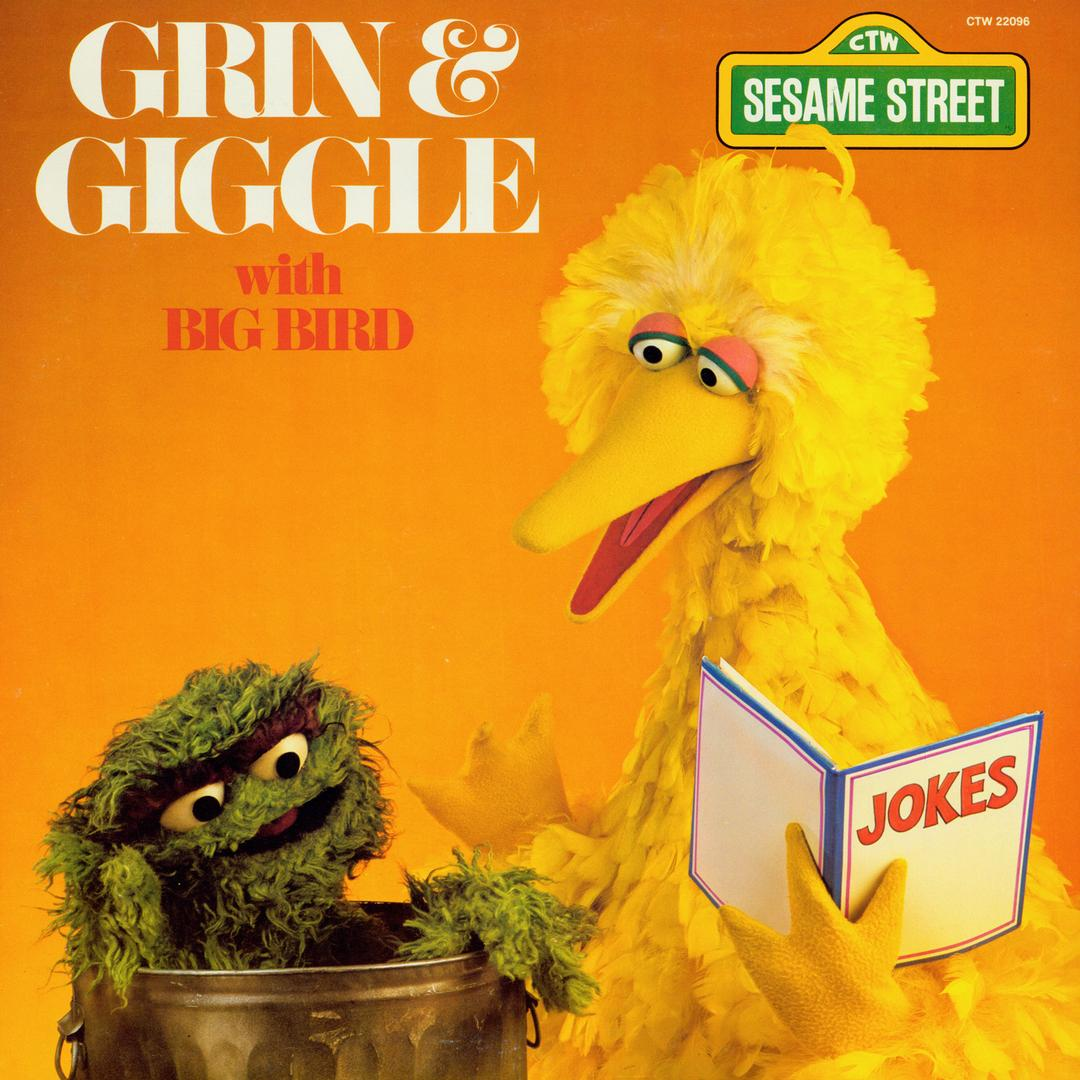 sesame street grin and