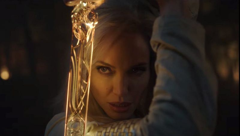 Eternals - Angelina Jolie could play the role of another superhero.  New photos