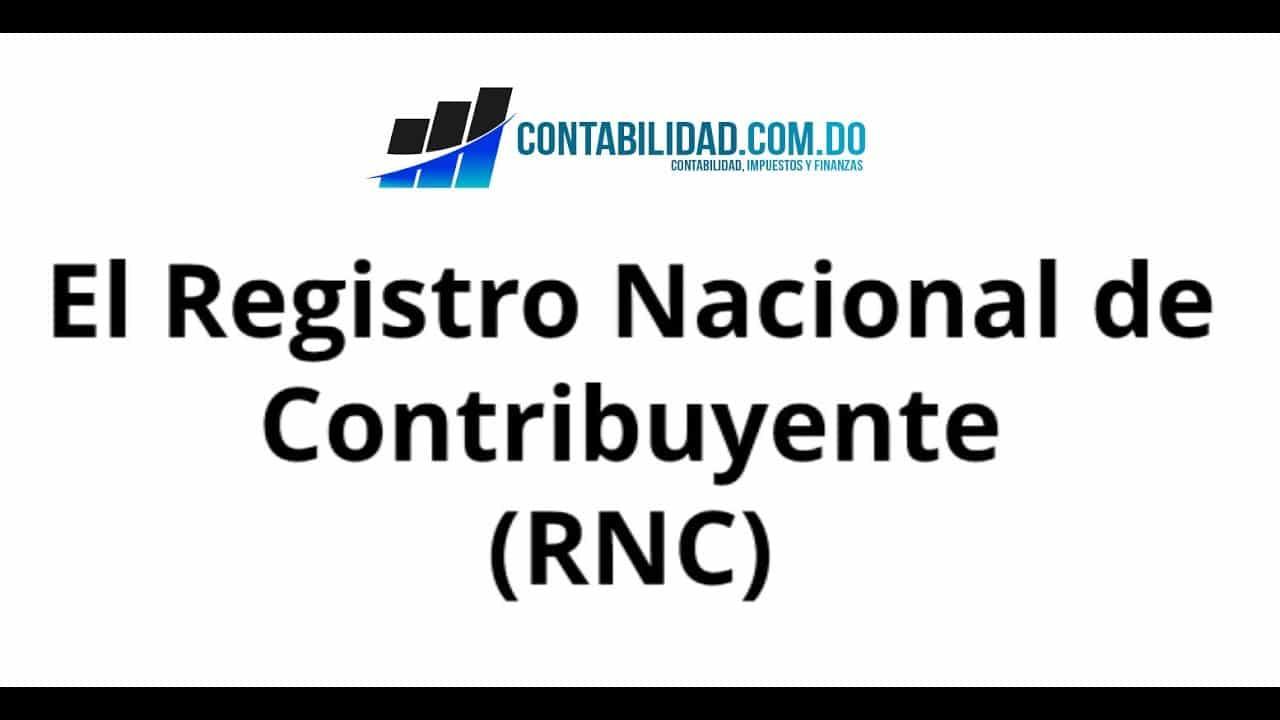 Video sobre el Registro Nacional del Contribuyente