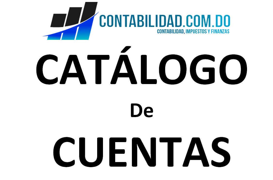 7761d220451e Que es un Catálogo de Cuentas  - contabilidad.com.do
