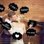 10 ideas para usar pizarras en tu boda