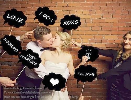 diez ideas para poner pizarras en tu boda