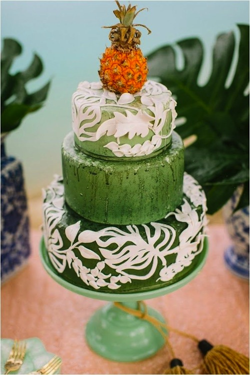 tarta-boda-tropical-piña