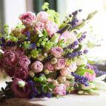 Rosa pitiminí para el ramo de novia