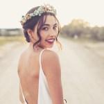 Tocados para novias bohemias