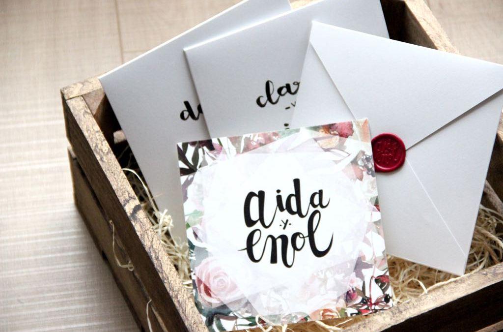 invitacion-boda-floral-lettering