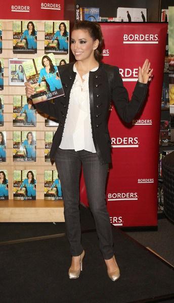 Eva Longoria Promotes Evas Kitchen  Contact Any Celebrity