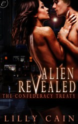 Cover of Alien revealed by Lilly Cain