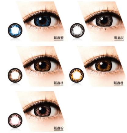 藍 – Contact Lens Site