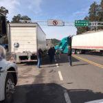 Ahora son los propios camioneros los que cierran la parte circulable de la súper a Mazatlán