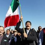 El gobernador de Chihuahua inicia marcha contra la corrupción en México