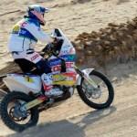 Joan Barreda gana la segunda etapa y es el nuevo líder del Dakar en motos