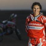 La española Rosa Romero correrá el Dakar con una moto más pequeña y liviana
