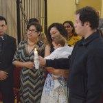 El pequeñito Héctor Alejandro Rodríguez Esparza recibió el Sacramento del Bautismo