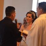 Angélica Návar Hernández y Armando Feliz Mena se dieron el sí ante Dios