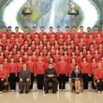 Kim Jong-un recibe a la orquesta norcoreano que actuó en el Sur durante JJOO