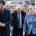 Merkel y Schulz exprimen plazos y avanzan hacia un pacto de gobierno