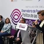 Instalan Observatorio de Participación Política de las Mujeres