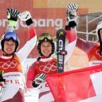 Suiza, oro por equipos tras vencer a Austria, que ganó el medallero de alpino