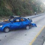 Vehículo que explotó en carretera salvadoreña contenía explosivo artesanal