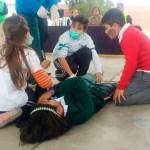 Aprenden desde temprana edad sobre primeros auxilios