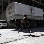 El convoy humanitario ha logrado repartir la ayuda en Guta, según el CICR