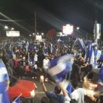 Con velas encendidas exigen justicia por muertos en protestas en Nicaragua