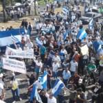 Miles demuestran su hartazgo contra el Gobierno de Daniel Ortega en Nicaragua