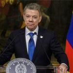 Santos pide mantener la campaña presidencial libre de violencia y agresiones